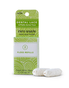 Dental Lace Refillable Floss - Refill 2pk
