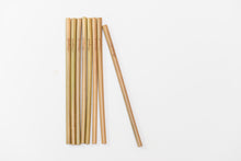 Bamboo Reusable Straws-Sustainable, Natural, Zero waste, Eco-friendly-Mariposah