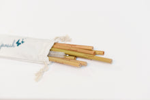 Bamboo Reusable Straws 8pk -Sustainable, Natural, Zero waste, Eco-friendly-Mariposah
