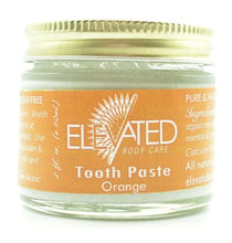 ELEVATED – TOOTH PASTE NATURAL TOOTH PASTE – 2OZ GLASS JAR