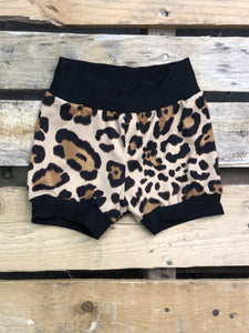 Jena Bug Baby Boutique - Latte Cheetah Infant/Toddler Shorties