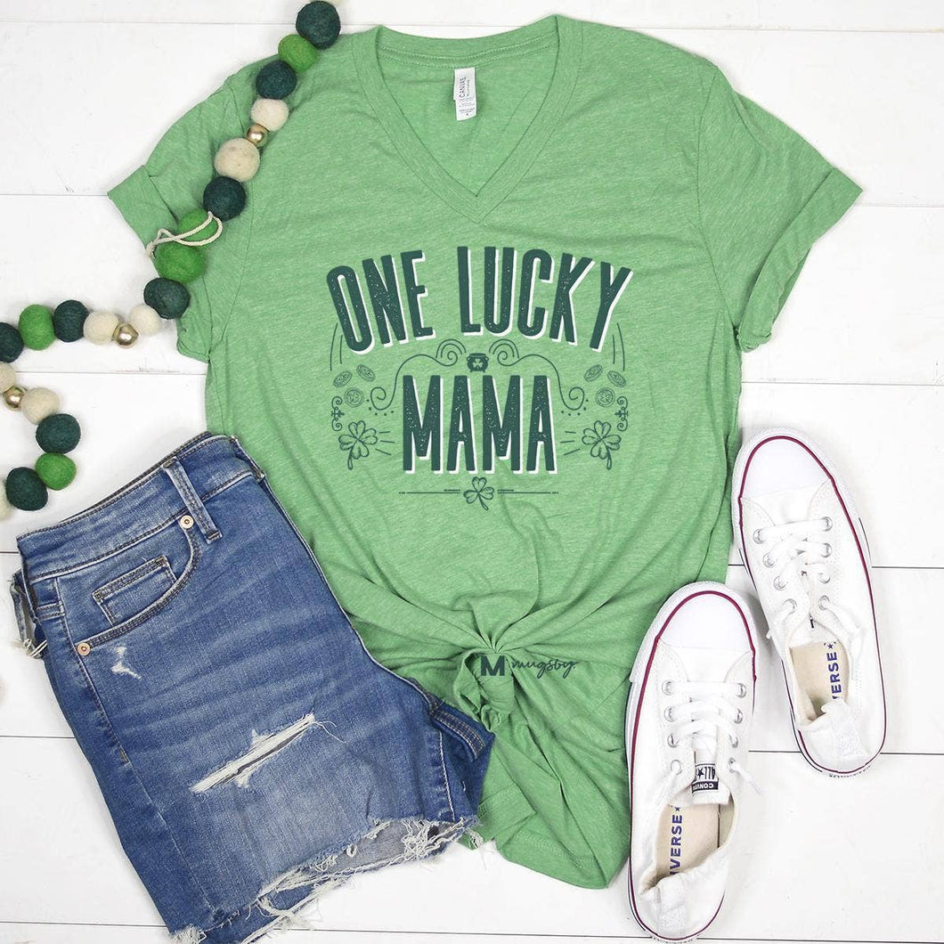 One Lucky Mama St. Patrick's Day Shirt