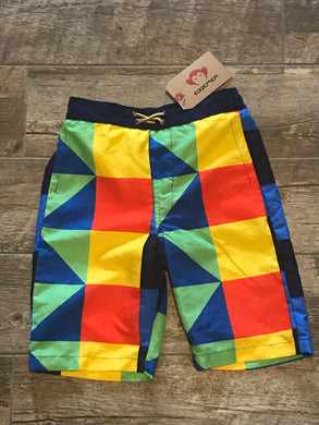 Appaman Geometric Swim Trunks
