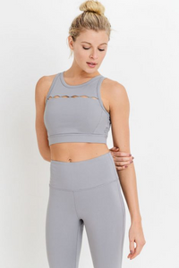 Row of Rhombus Sports Bra
