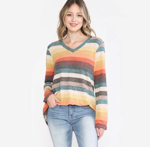 Fall Stripe Long Sleeve