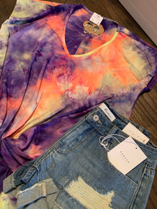 Twist Tie Dye Top