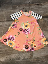 Peach Toddler Swing Dress