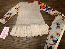 Baby Girl  Long Sleeve Floral Set