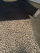 Criss Cross Cheetah Top
