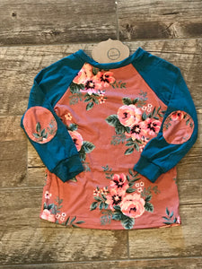 Girls Raglan Top