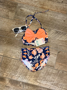 Botanical Beach Bow Bikini