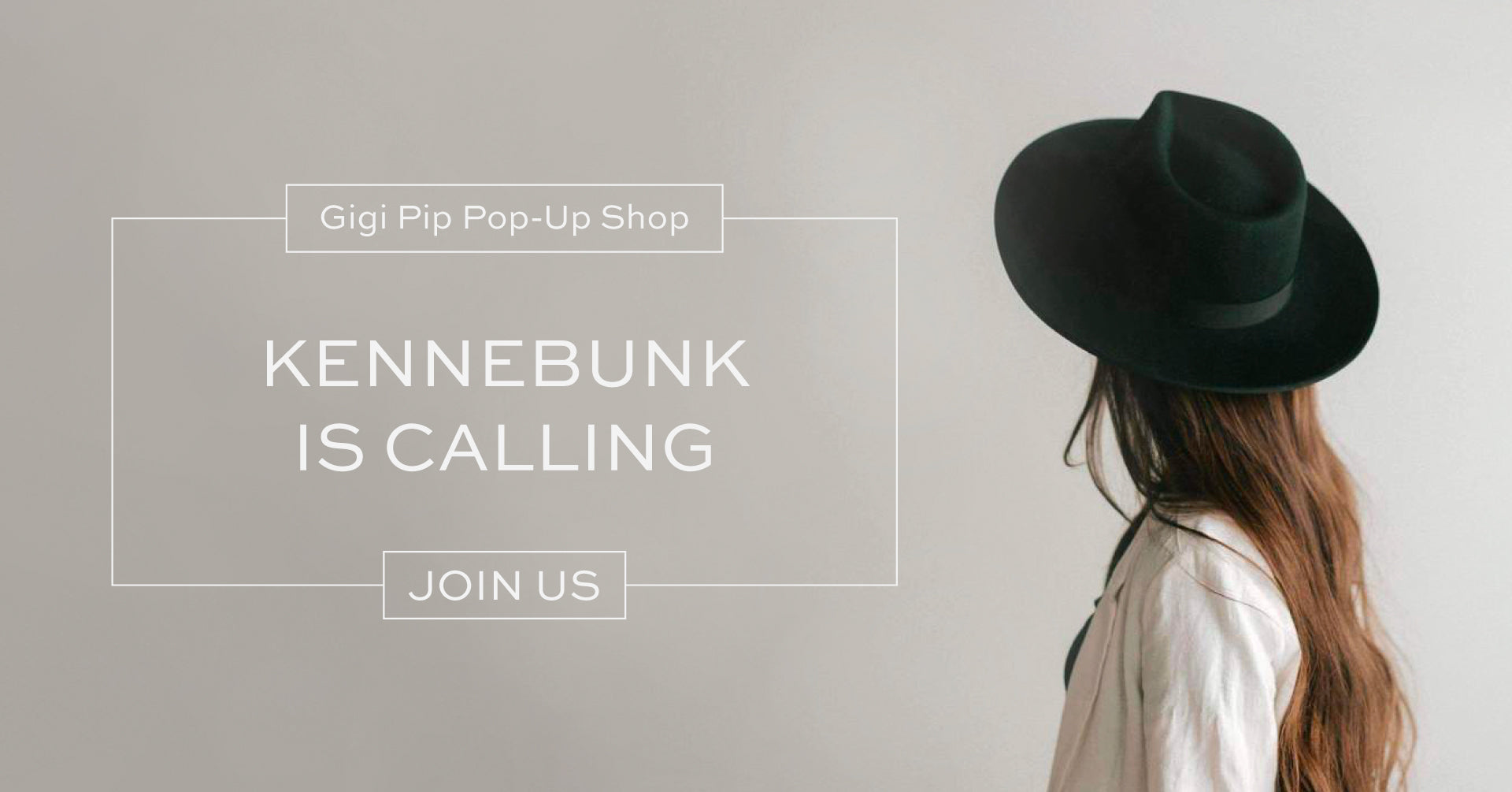 Gigi Pip Pop-Up Event at Bliss Boutiques in Kennebunk, ME