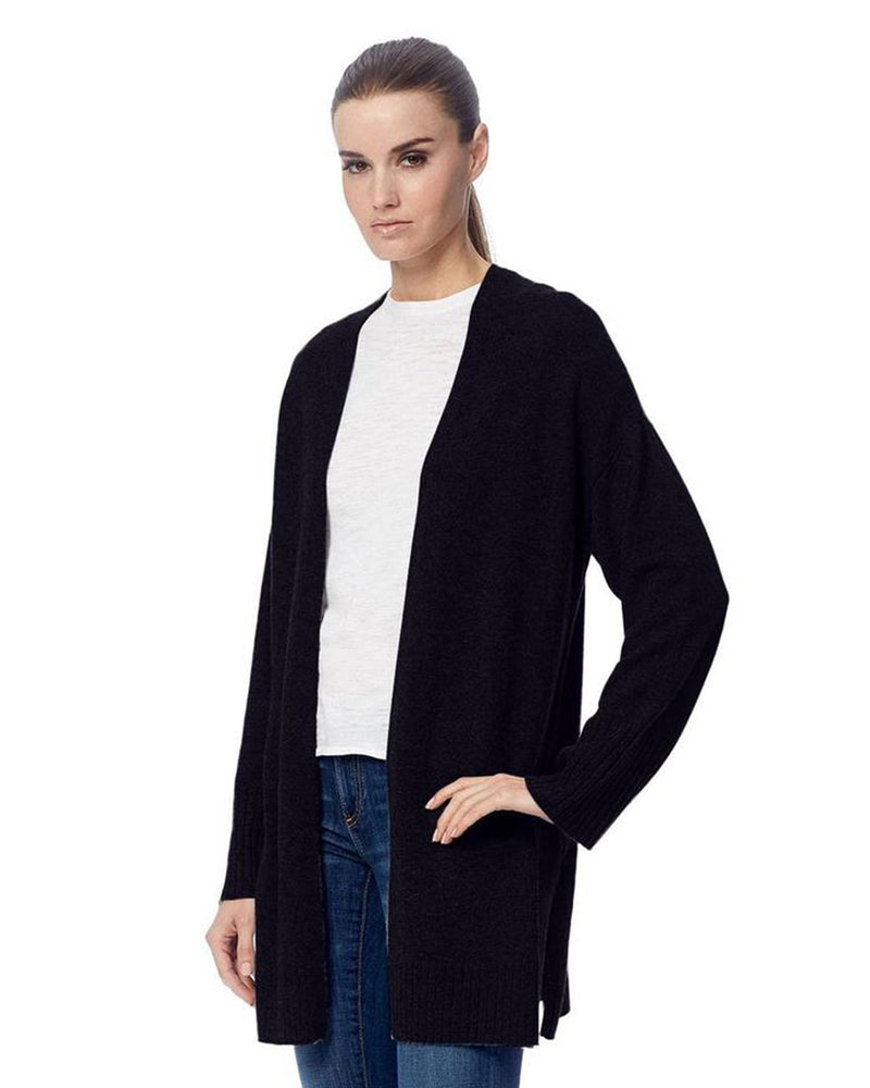360 Cashmere Clothing Ariana Cardigan in Black