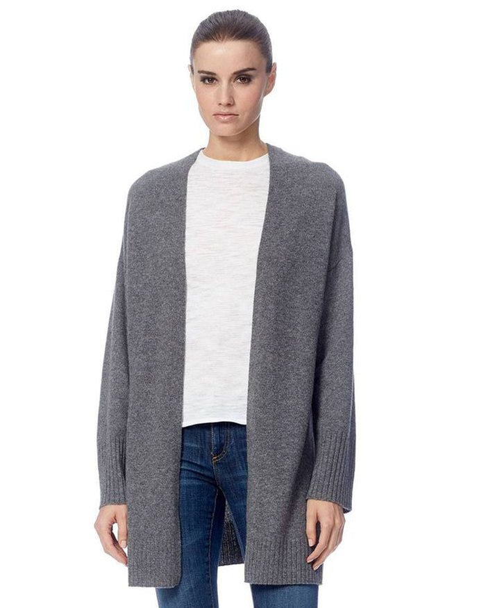 360 Cashmere Clothing Mid Heather Grey / XS Ariana Cardigan