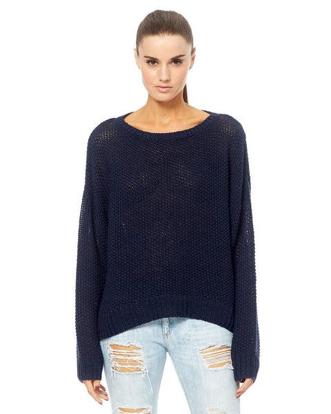 360 Cashmere Clothing Galaxy / XS Jaylyn Crew Pull Over in Galaxy