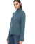 360 Cashmere Clothing Leighton Turtleneck in Teal