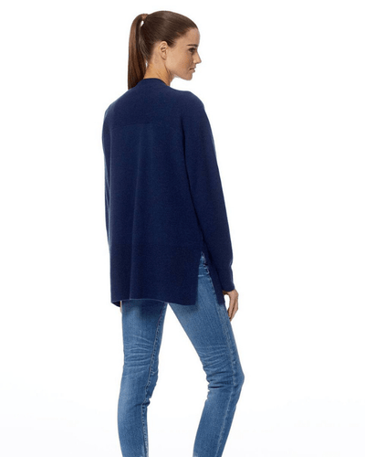 360 Cashmere Clothing Michaela Cardigan in Navy