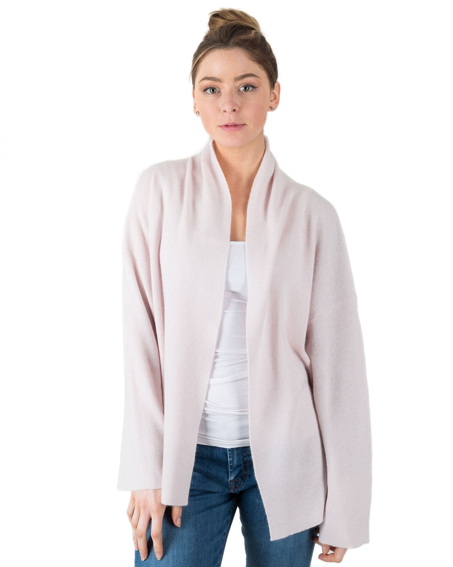 360 Cashmere Clothing Lotus / XS Monserrat Open Cardi