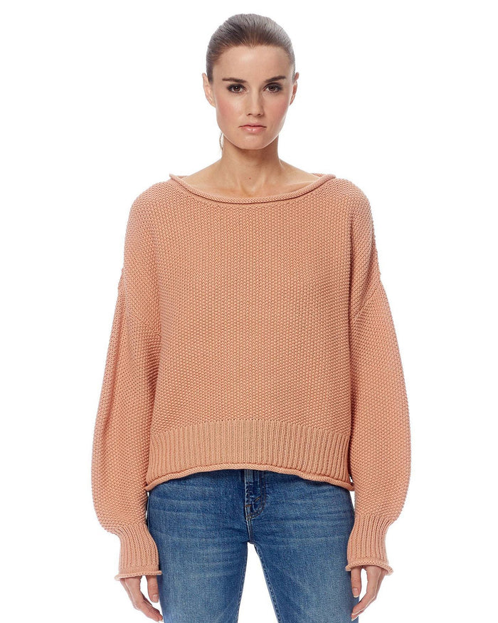 360 Cashmere Clothing Rose Dusk / XS Remy Ballon Sleeve Sweater