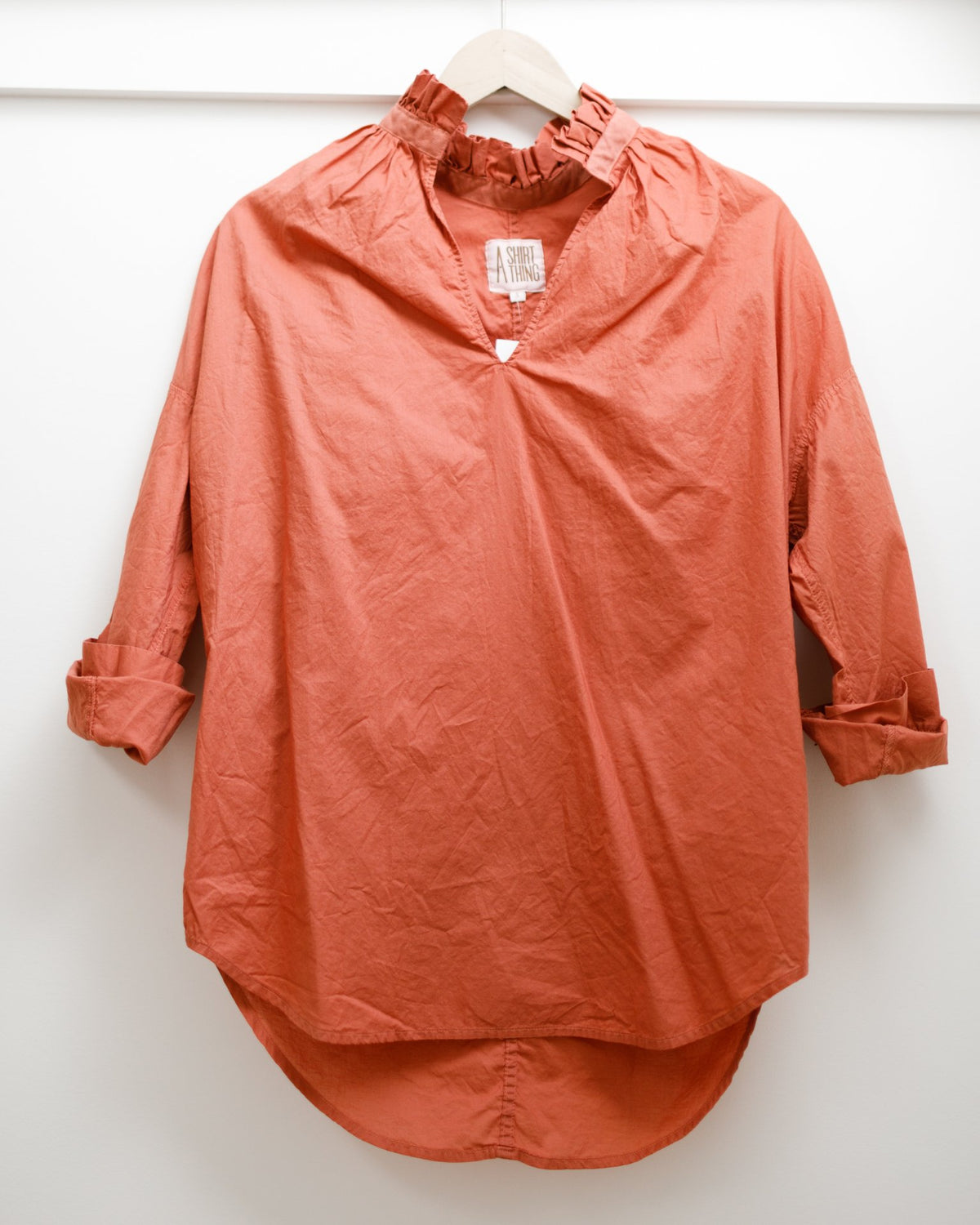 A Shirt Thing Clothing Penelope - Cabo - Salmon