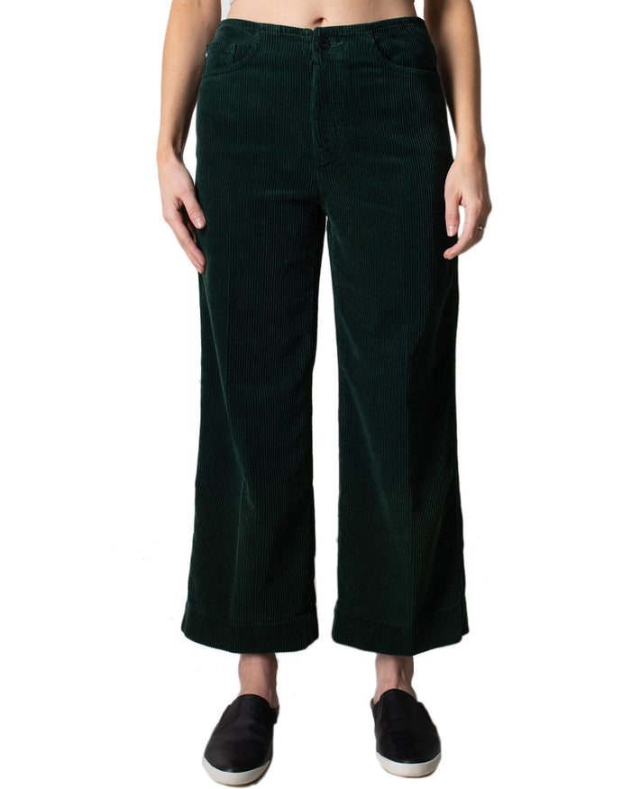Adriano Goldschmied Denim Verdant / 25 Etta Wide Leg Trouser in Verdant