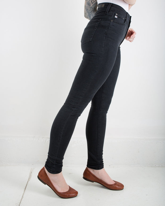 Adriano Goldschmied Denim 3 Years Obsidian / 25 Mila Super High Rise Skinny