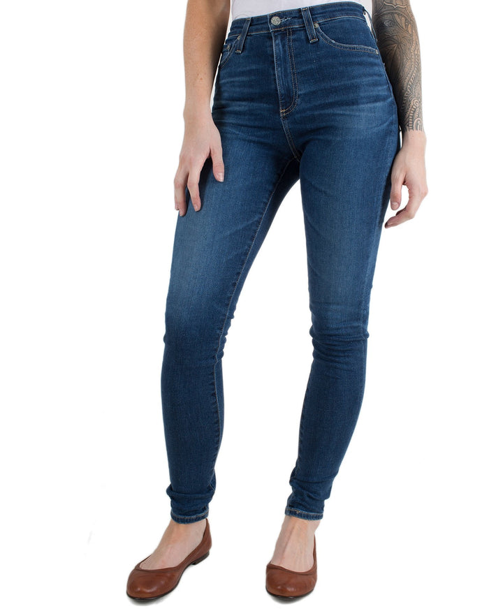Adriano Goldschmied Denim 8Ys Blue Portrait / 25 Mila Super High Rise Skinny