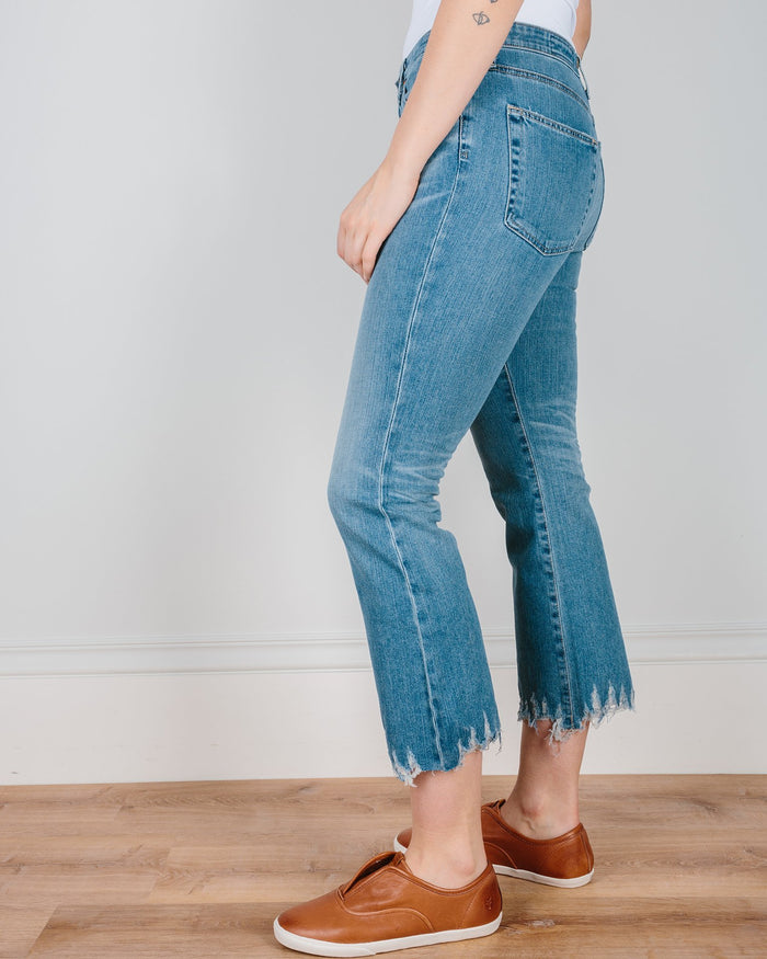 Adriano Goldschmied Denim The Jodi Crop - Destroyed Hem