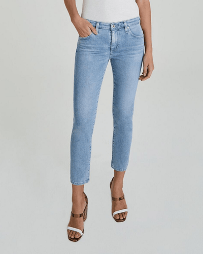Adriano Goldschmied Denim 26 Years Skylight / 25 The Prima Crop in 26 Years Skylight