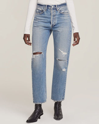 AGOLDE Denim 90s Loose Fit Jean in Streamline