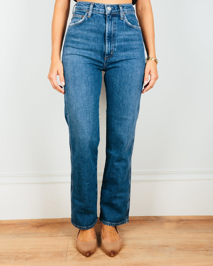AGOLDE Denim Subdued / 24 Pinch Waist Hi Rise Kick in Subdued