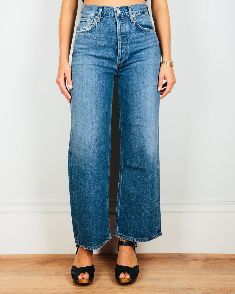 AGOLDE Denim Ren Hi Rise Wide Leg in Censor