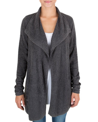 Barefoot Dreams Clothing Carbon / XS CCL Coastal Cardi