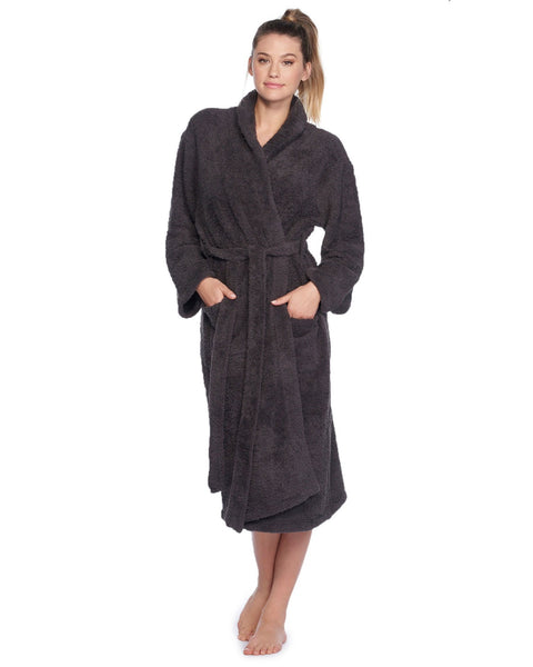 Barefoot Dreams Clothing Carbon / 1 Cozy Chic Adult Robe