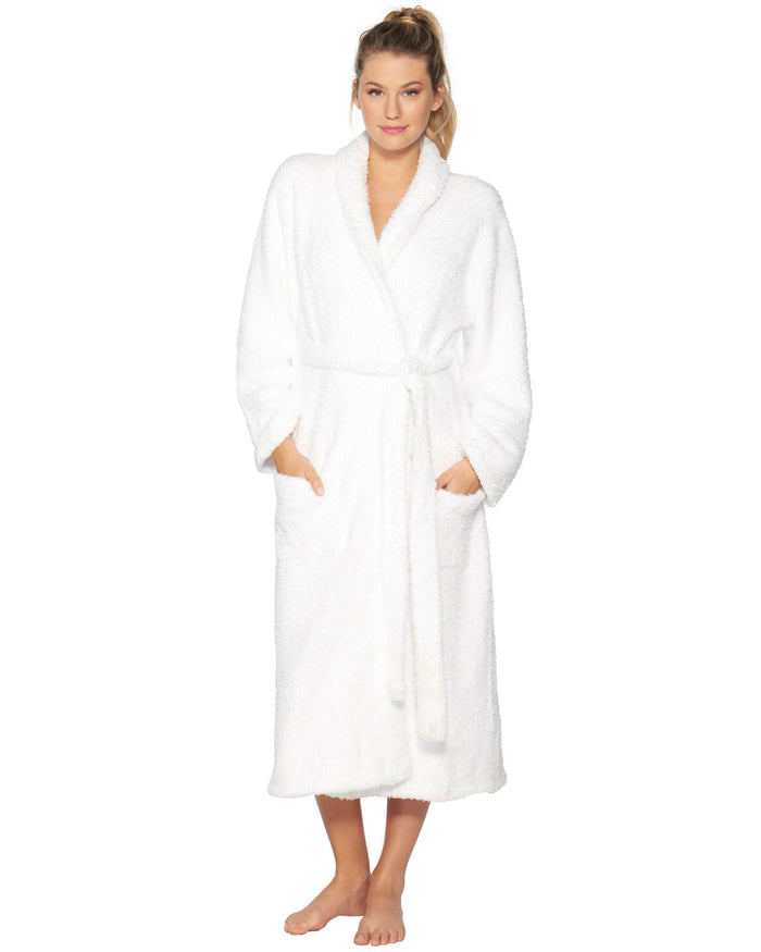 Barefoot Dreams Clothing White / 1 Cozy Chic Adult Robe