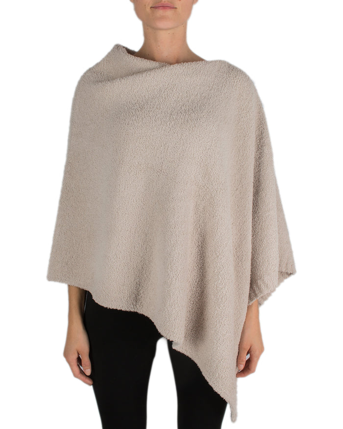 Barefoot Dreams Clothing Stone / O/S Cozychic Boatneck Poncho