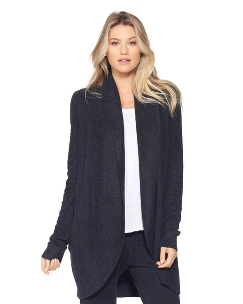 Barefoot Dreams Clothing Black / XS Cozychic Lite Circle Cardi