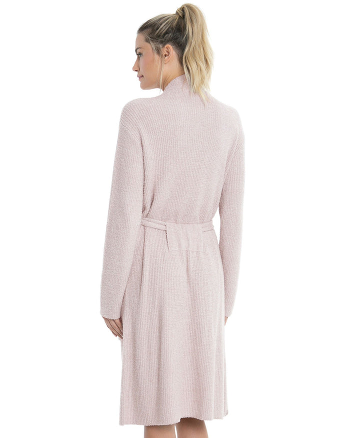 Barefoot Dreams Clothing Silver/Pearl / S/M Cozychic Lite Ribbed Robe
