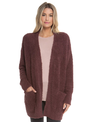 Barefoot Dreams Clothing Rosewood / S/M Cozychic So-Cal Cardi