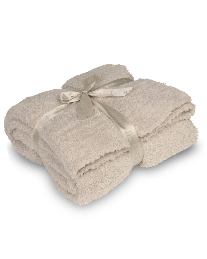 Barefoot Dreams Home Stone / O/S Cozychic Throw