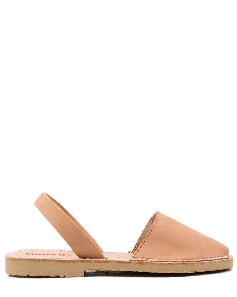 Calaxini Shoes Verano Slide in Cuero Nubuck