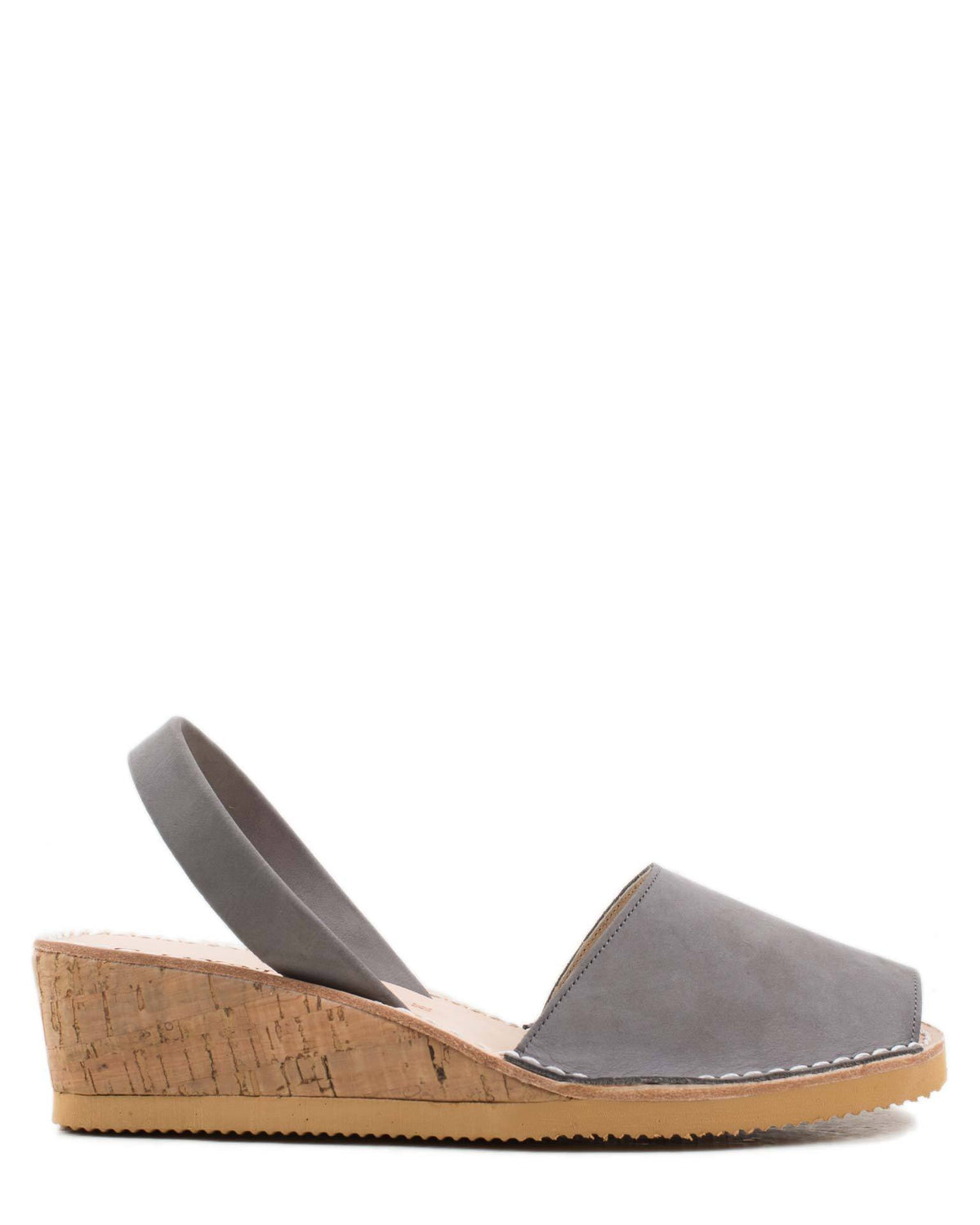 Calaxini Shoes Topo Nubuck / 36 Wedge Sandal