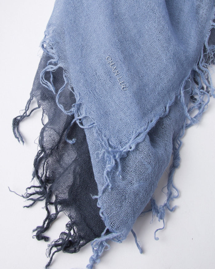 Chan Luu Accessories BluMirage/DustyBlu / O/S C/S Shadow Dye Scarf