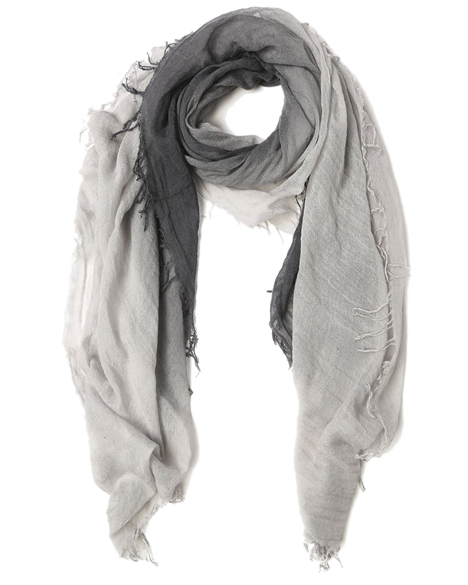 Chan Luu Accessories Ebony/Harbor Mist / O/S C/S Shadow Dye Scarf