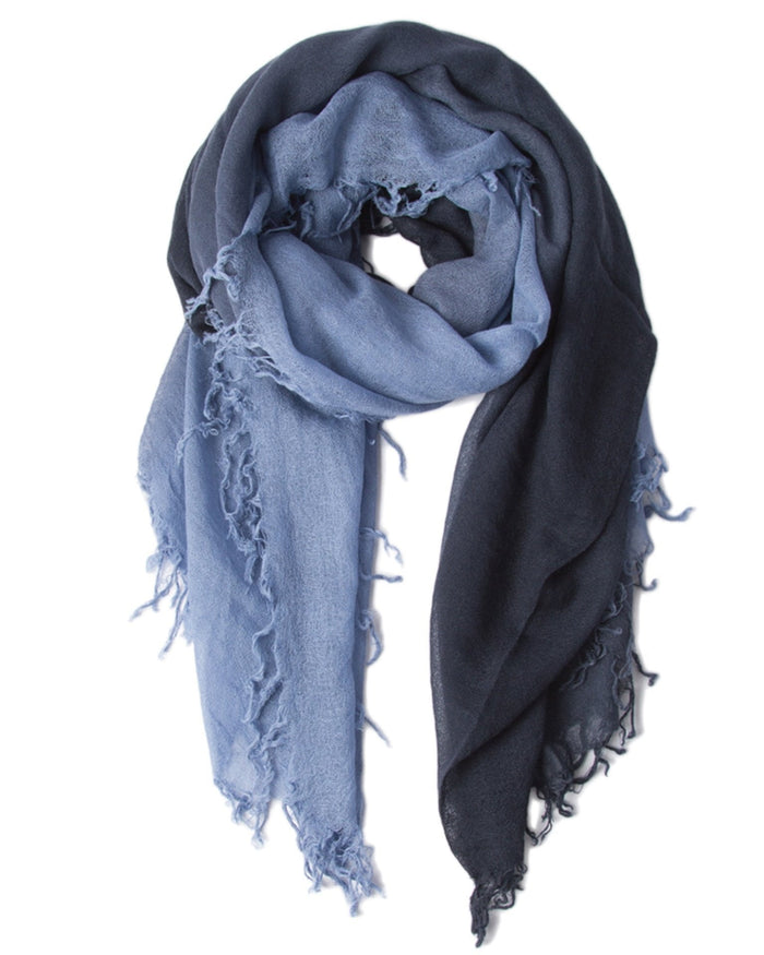 Chan Luu Accessories Stonewash/BluKnights / O/S C/S Shadow Dye Scarf