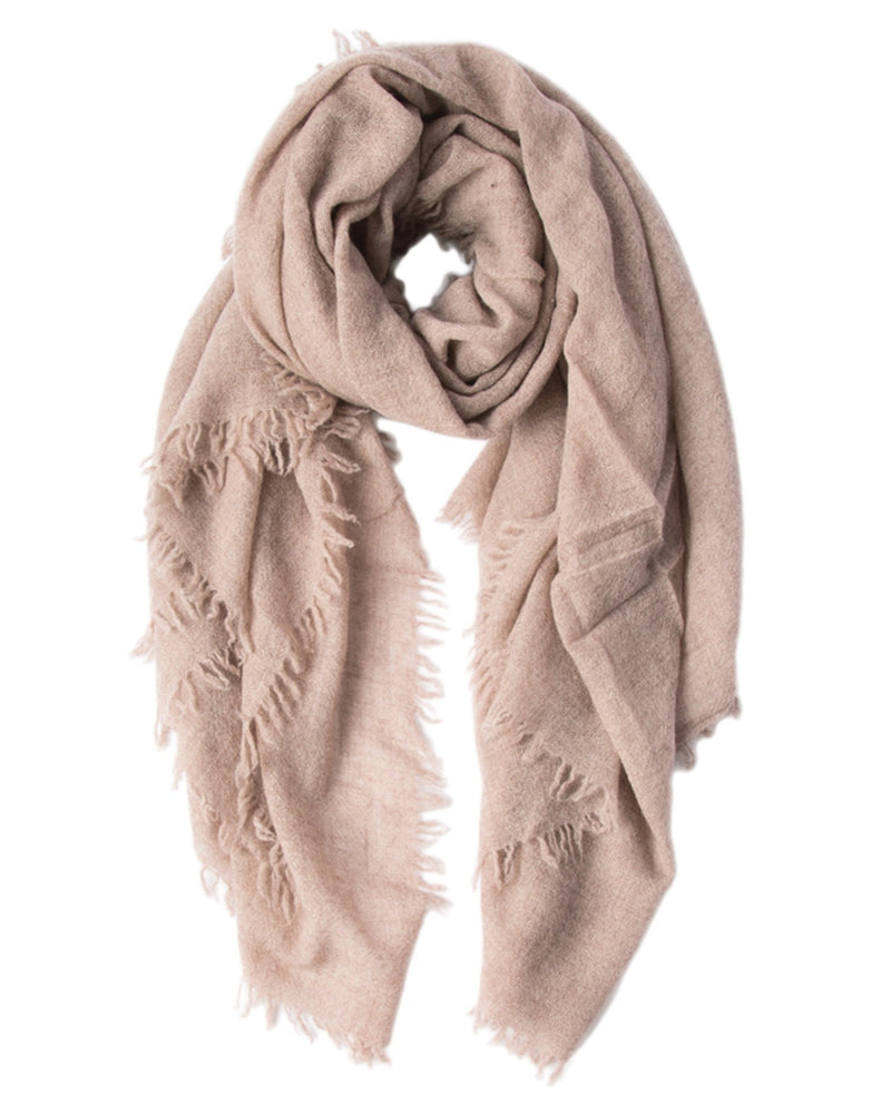 Chan Luu Accessories Brown / O/S Cashmere Scarf