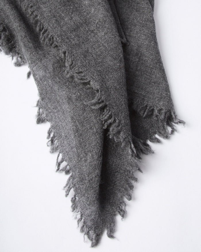 Chan Luu Accessories Dark Grey / O/S Cashmere Scarf