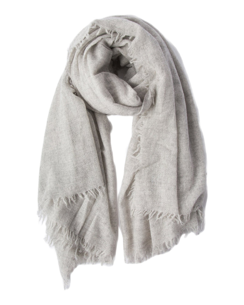 Chan Luu Accessories Light Grey / O/S Cashmere Scarf