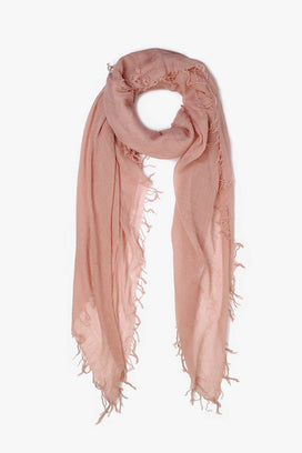 Chan Luu Accessories Cashmere & Silk Scarf in Adobe Rose