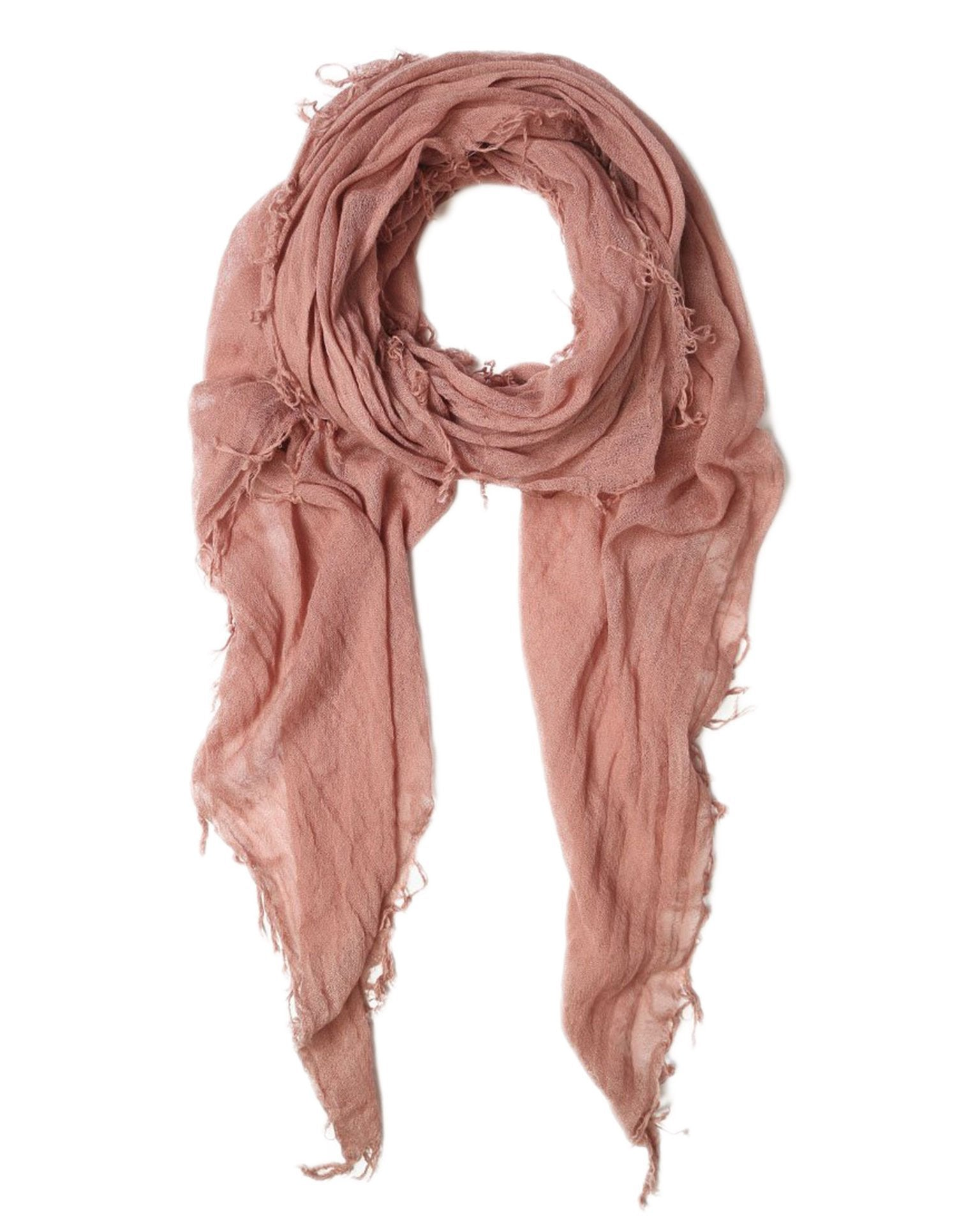 Chan Luu Accessories Cashmere & Silk Scarf in Ash Rose